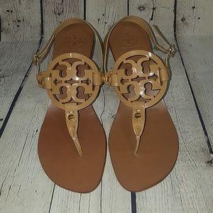Wore 2x TORY BURCH 9M sandal heels